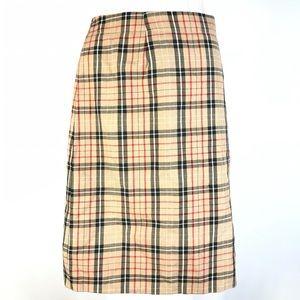 Encore plaid skirt